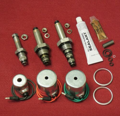 Installation Kit MEYER Coil /& Valve XO Spring Spacers;  E47 E57 E60 Pumps