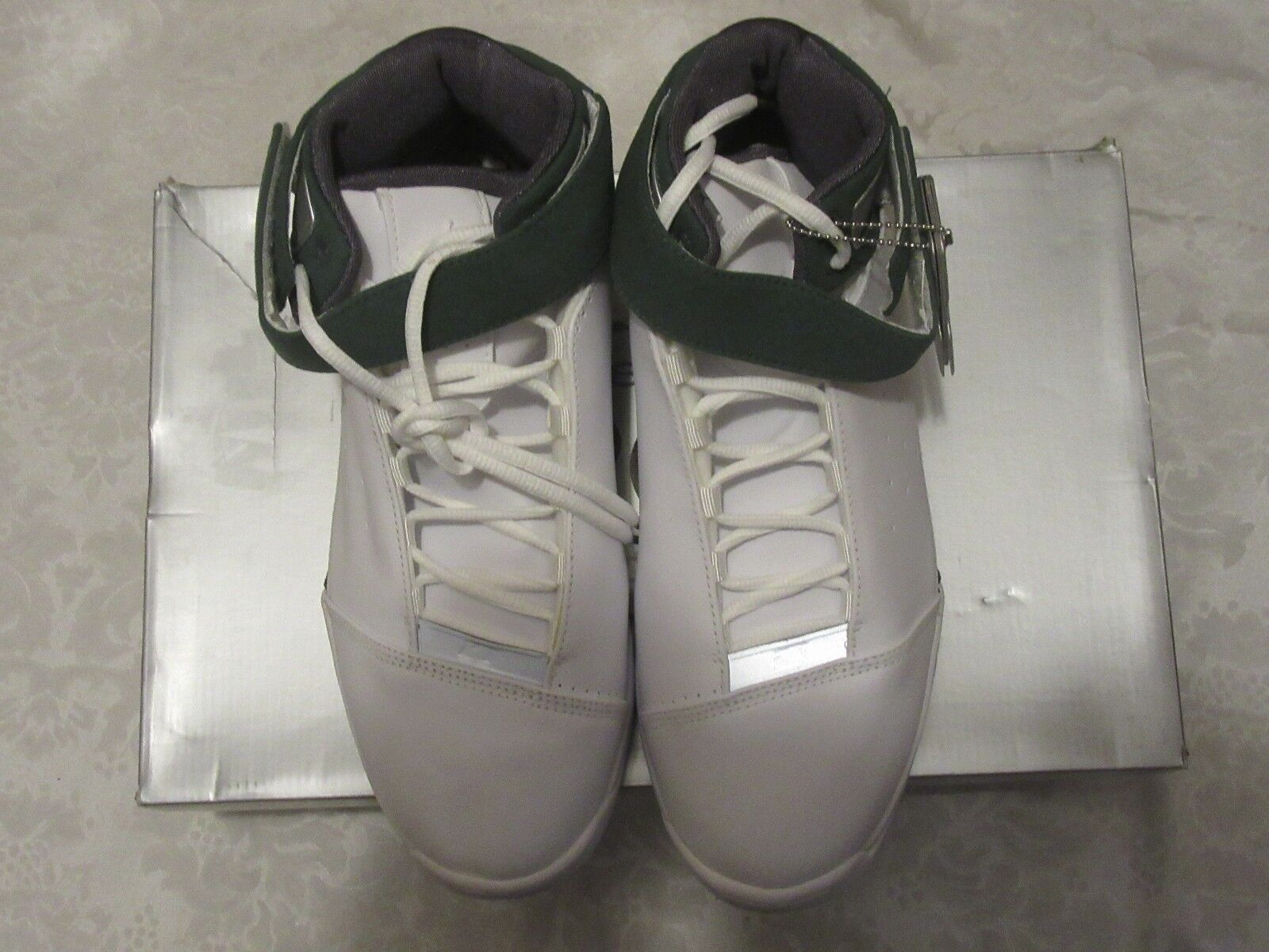 Nike Jordan 2005 Team Strong Green White 311868 107 Size 10 Sneakers