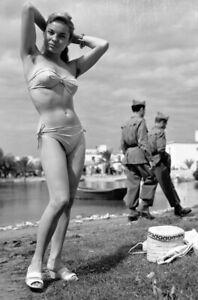 PinUp-Girl-Military-vintage-Rare-Nice-Woman-Sexy-WW2-War-Photo-4x6-inch-I