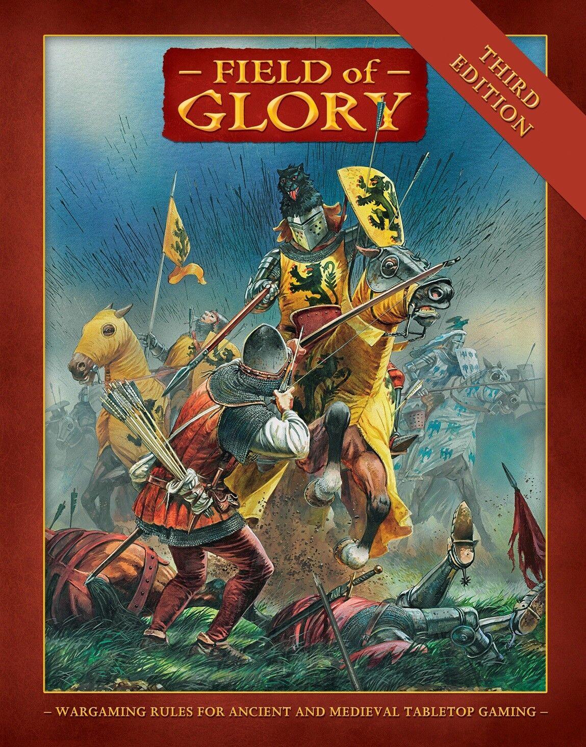 FIELD OF GLORY THIRD EDITION - ANCIENTS WARGAME  - PARTIZAN PRESS