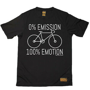 Cycling 0 Emmission 100 Emotion Breathable bicycle cycle T SHIRT DRY FIT T-SHIRT
