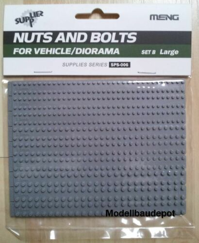Meng SPS-006 Nuts and Bolts Set B Large   1:35