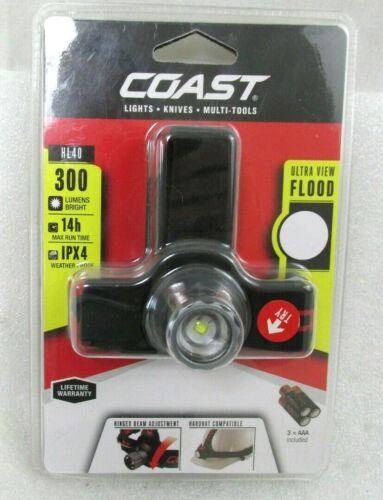 Coast HL40 300 LM DEL projecteur avec casque de Compatibilité