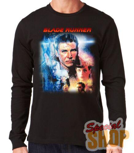 "Long-Sleeved T-Shirt Long /"" Blade Runner-Classic Movie /"" Long Sleeve"