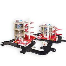 XXL Doppel Parkgarage Parkhaus mit 3 Ebenen Autogarage Auto Spielzeug Tankstelle
