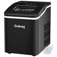 Portable Countertop 26Lbs/24H Self-cleaning Ice Maker Machine with Scoop