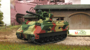M163a1 Vulcan Air Defence System Nato 1967 Year 172 Scale Diecast