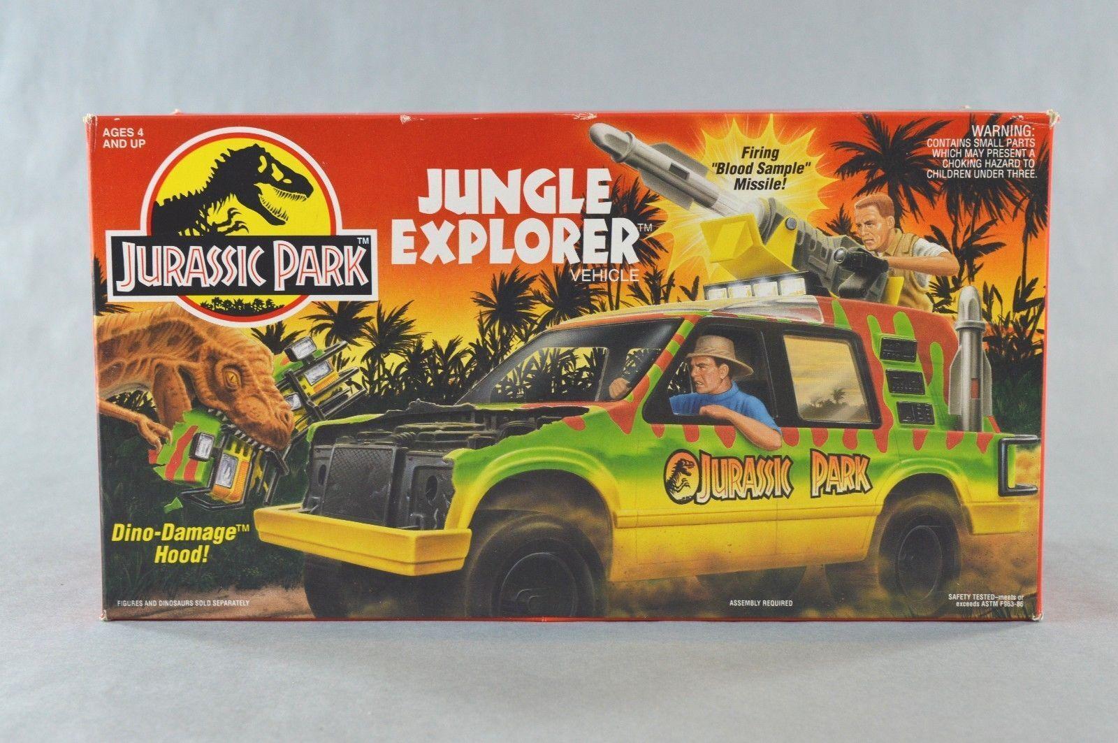 1993 Jurassic Park Jungle Explorer fordon Kenner New Sealed