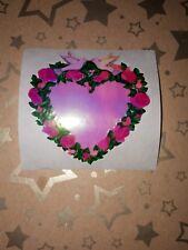 🦁Sandylion Pearly MOP Herz groß  Scrapbooking Sticker 90er 🦁