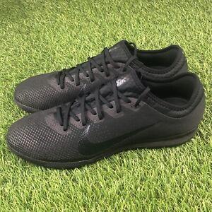 more photos f2226 0756c Details about Nike Mercurial VaporX 12 Pro IC Size 11.5 Indoor Shoes Triple  Black AH7387-001