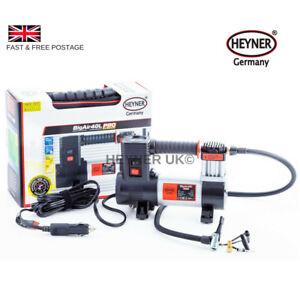 Powerfull-HEYNER-Heavy-Duty-12V-Air-Compressor-7-bar-100-psi-Cr-Van-Bike