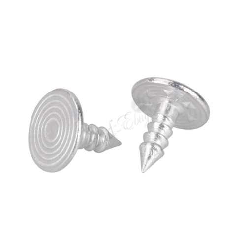 10PCS Hommes Bachelor métal instantanée Bouton /& CLOUS remplacement pour vêtements Jarretelles