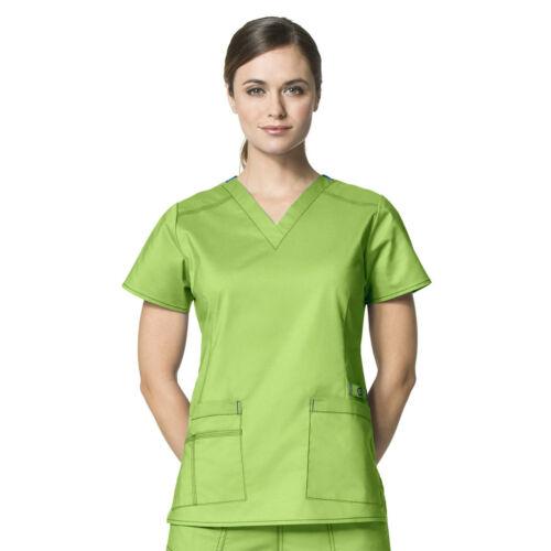 Wonder Wink Wonderwink Flex Nurses V-Neck Flex Scrub Top Style 6108 ~NEW~
