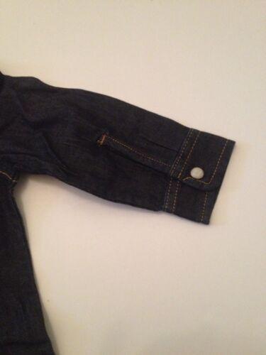 Baby Gap Boy Long Sleeve Button Down Shirt Size 12-18 Months Denim Chambray