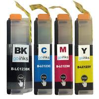 4 Ink Cartridges for Brother DCP-J132W DCP-J752DW MFC-J470DW MFC-J6720DW