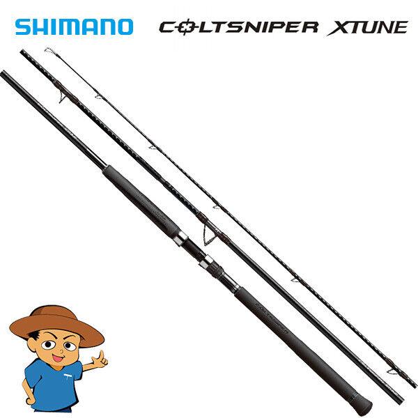 Shimano coltsniper Xtune S98XXH Super Extra Pesado Pesca Giratoria Caña 2019 ver