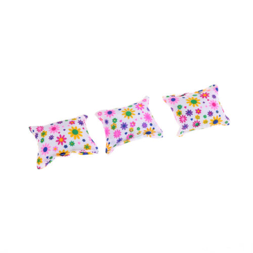 Baby Toy Plush Stuffed Furniture 3x Cushions For  Doll Couch ESCA SP