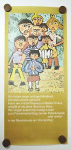 GDR Poster Children Decor Vintage Naive Painting Print Retro