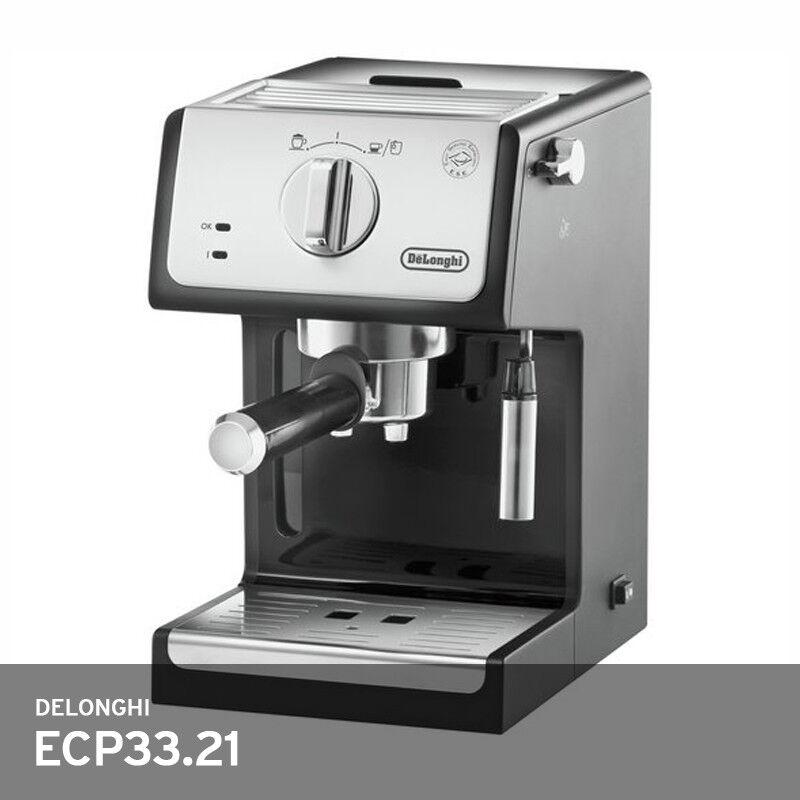 Delonghi ECP 33.21 Espresso Coffee Maker 220 V 60 Hz 1000 W 15Bar Auto-Off Gratuit UPS