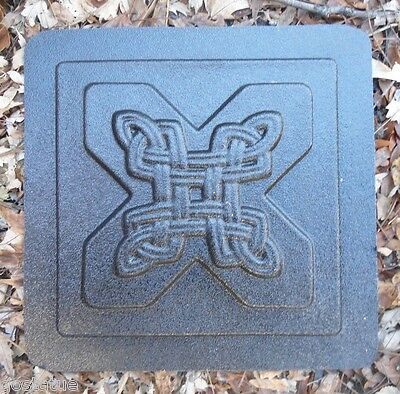 Gostatue MOLD Plaster cement resin celtic tile abs plastic mold