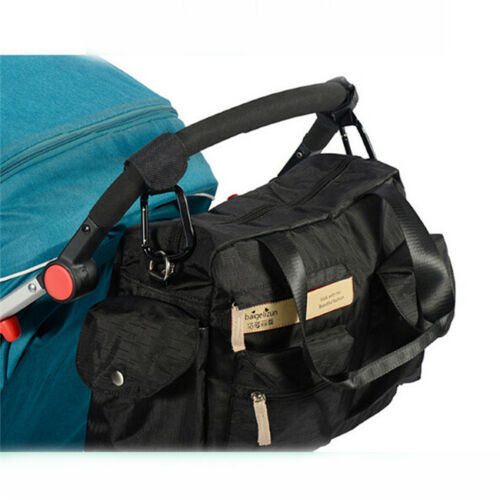 2 x Shopping Bag Hooks For Pram Pushchair Stroller Clips Large Hand Carry 6A