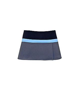 Cynthia Rowley Colorblock Bonded Pique Mini Skirt