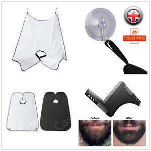 Men-039-s-Facial-Hair-Beard-Apron-Care-Shave-Cape-Bib-Trimming-Catcher-Beard-Shaping
