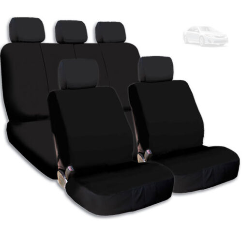 For Toyota New Semi Custom Car Seat Covers Set Support Split Rear Seat