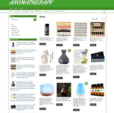 Aromatherapy Supplies Websith With 1 Years Hosting Easy Home Business