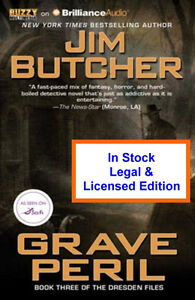 Grave Peril Audio Book  -Jim Butcher - Dresden Files CD