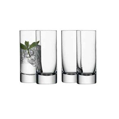 LSA Bar Long Drink Glass - clear - Set of 4