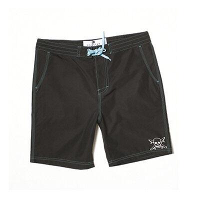 Fourstar Skateboards Clothing Boys Appian Grey Shorts 8-9 years Clearance