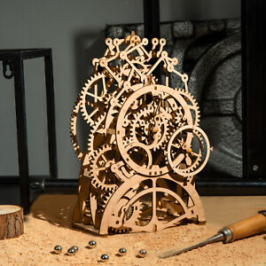 ROKR-Laser-Cutting-3D-Wooden-Puzzle-Pendulum-Clock-Model-Kits-Toy-Gift-for-Adult