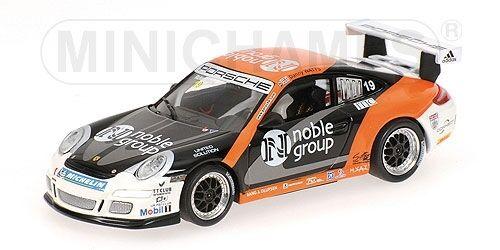 Porsche 911 Gt3 Cup Carrera Cup Cup Cup Asia Macau 2007 R. Meins 1:43 Model MINICHAMPS 893808