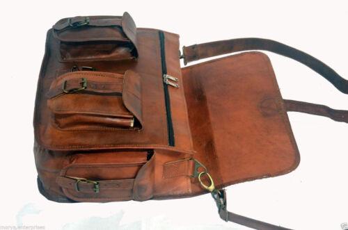 Leather Bag Mens satchel vintage leather messenger bag brown handmade shoulder
