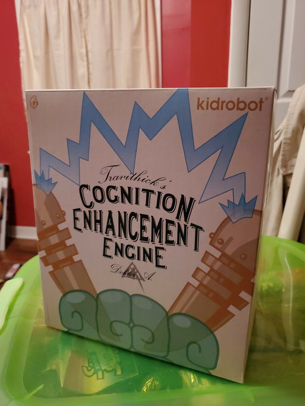 NECA KIDROBOT Cognition Engine Dunny Sofubi 2018 - MiB New In Box Doctor A rot