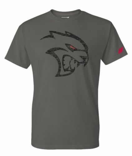 New Dodge Men/'s Hellcat Redeye T-Shirt X Large Dodge Rhombus Left Sleeve