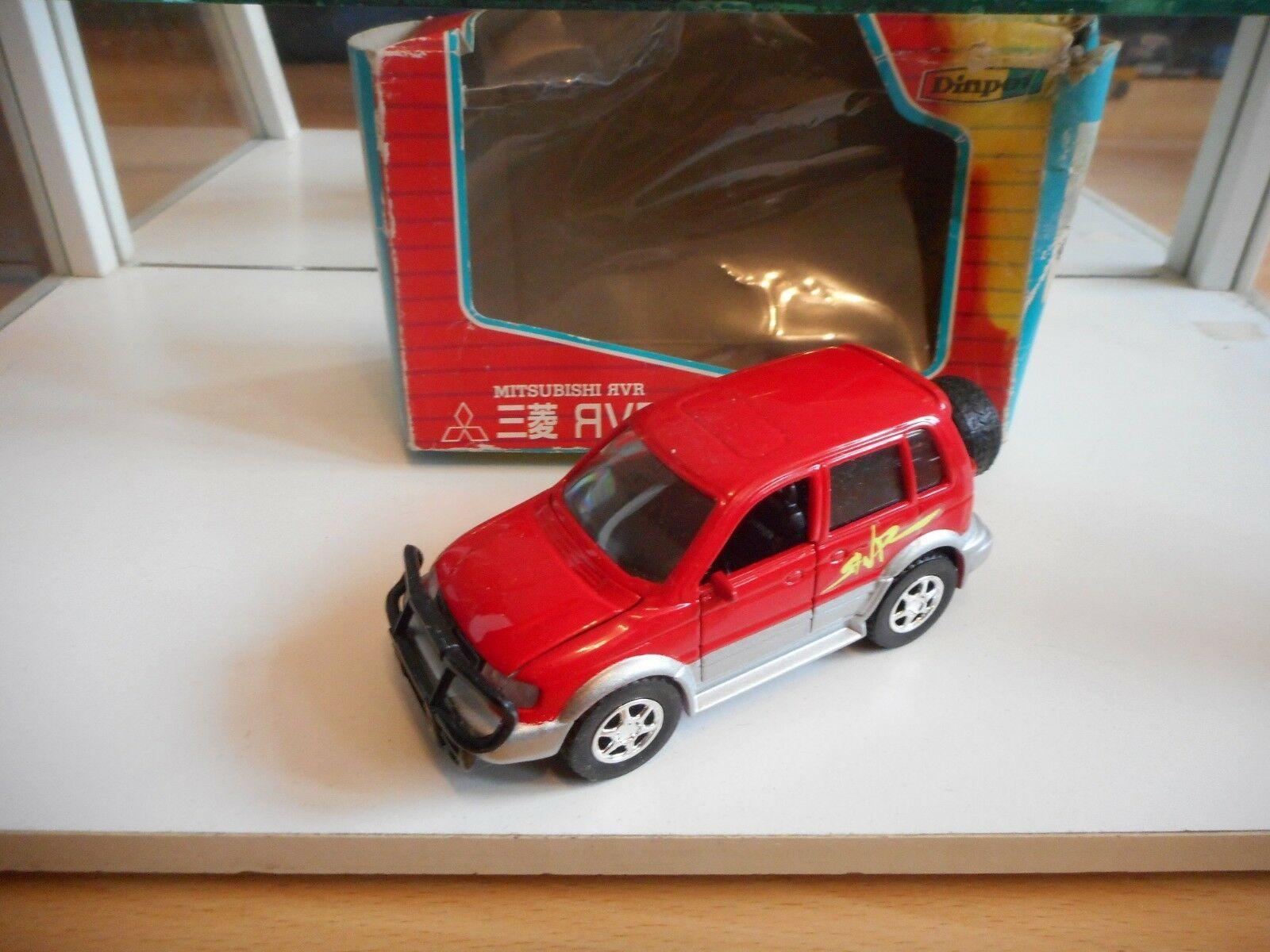 Diapet Sega Yonezawa Mitsubishi RVR in rouge on 1 40 in Box