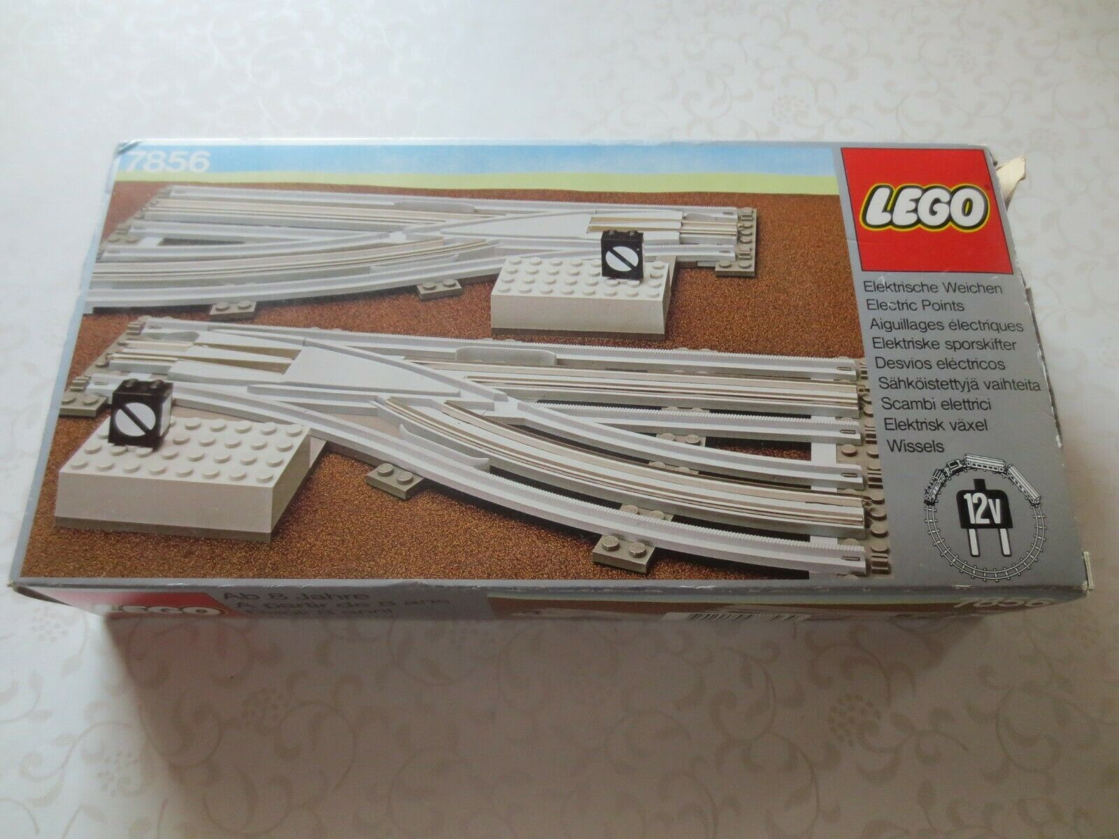 LEGO ® 7856 soffice morbida COPPIA  destra e sinistra 12v Ferrovie con OVP  sport dello shopping online