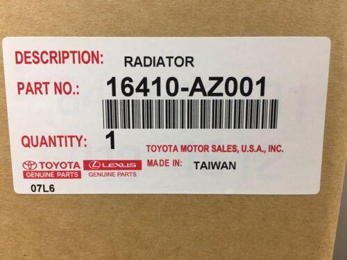 Toyota Corolla Matrix 2003-2008 Radiator Assembly w// Cap Genuine OEM OE