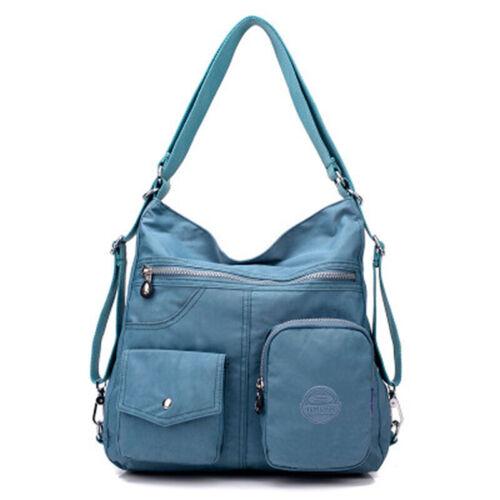 2019 Khalia High Capacity Waterproof Backpack Multifunction Satchel Shoulder Bag