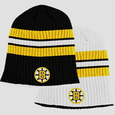 e61d5283182 item 3 BOSTON BRUINS KNIT BEANIE HAT SKI CAP TOQUE NHL REVERSIBLE CUFFLESS  NWT -BOSTON BRUINS KNIT BEANIE HAT SKI CAP TOQUE NHL REVERSIBLE CUFFLESS NWT
