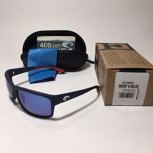 cc2c7edd22 Costa Del Mar Mag Bay 400G Polarized Glass Mirrored Sunglasses MSRP ...