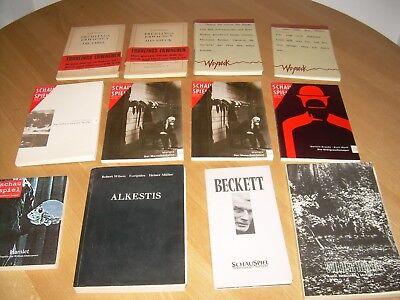 Waren Jeder Beschreibung Sind VerfüGbar Einfach Programmhefte Schauspiel Stuttgart Wedekind Woyzeck Moliere Hamlet Alkestis U.a Bücher