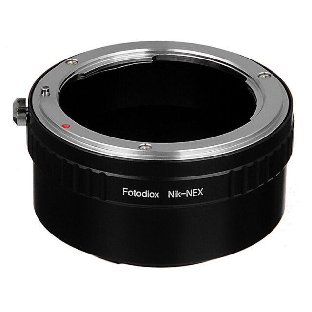 Fotodiox Lens Mount Adapter Nikon Nikkor F- Linse für Sony Alpha E-mount Camera