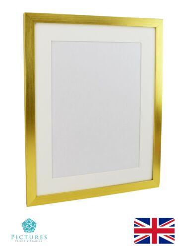 Gold Photo Cadre 28 mm 21x21 21x22 21x23 21x24-36 pouces Mount Perspex
