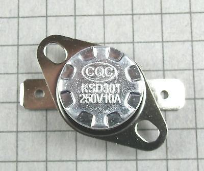 NO:Temperature:BiMetal Switch 122ºF Thermostat:KSD301-K050 50ºC N.O