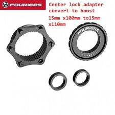 Bicycle Center Lock for Shimano hub adapter to Boost Hub 15mm x100mm to15mm x110