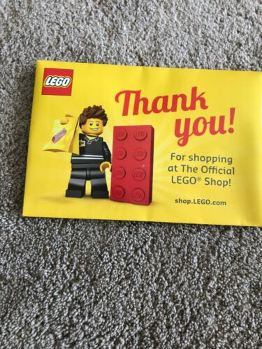 Lego Promotional Minifigure 5001622 Store Employee In Lego VIP Gift Envelope New
