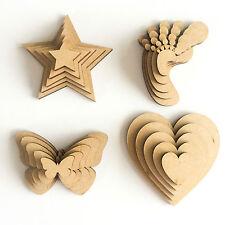20 MDF 3cms hearts